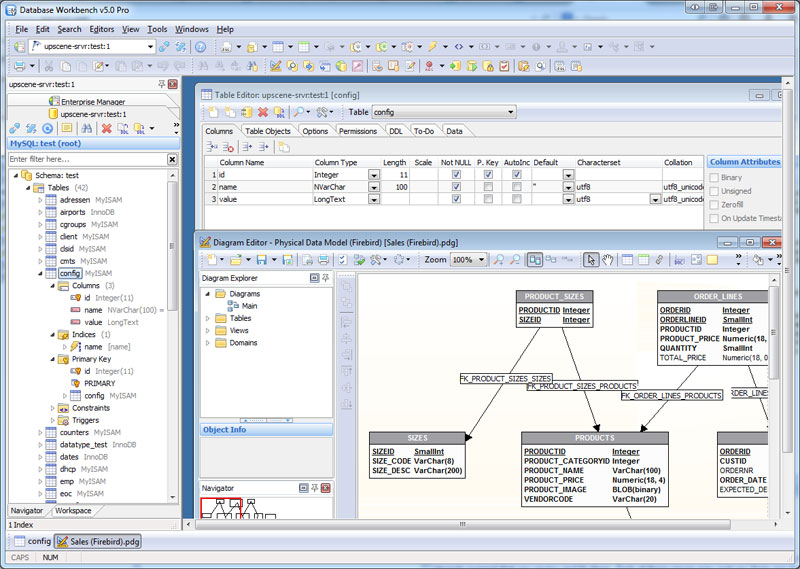 Click to view Database Workbench Pro screenshots